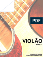 1projeto Aprendiz - Violão Nível i