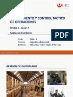 Unidad 4 - Sesión 7 - Inventarios 1 PCT2 - EPE 2016-2