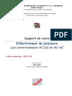 AC DC AC AC Electronique de Puissance L2 S1