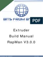 Extruder Manual
