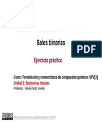 2.6. Sustancias binarias sales. Ejercicio pr+íctico