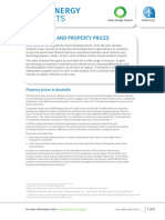 Wind Energy Fact Sheet 2 Wind Farms and Property Prices