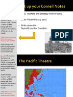 Day 7 - 2016 - Pacific Warfare and Strategy - WWII