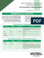 Herbicidas Alfalfa