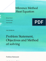 Finite Difference Method for 2 d Heat Equation 2 | Finite