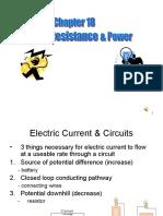 AP Physics B Ch 18 Review PPT