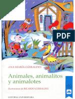 Animales, Animalitos y Animalotes