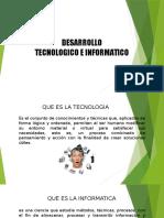Desarrollo Tecnologicos e Informaticos