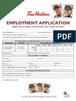 Tim Horton Job Application From.pdf