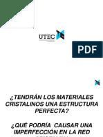 2. Defectos en Estructuras Cristalinas