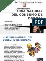 Historia Natural Del Consumo de Drogas