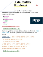 Maths Appliquees