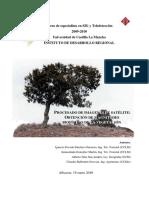 Procesado de Imágenes de Satélite, Magnitudes Biofísica Para La Vegetación