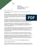 Dakota Access Eminent Domain Brief