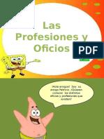 Ppt Profesiones Oficios Con Movimiento