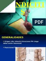 Apendicitis, Dr. Roy Ferrufino Mejia.