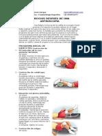 Ejercicios post artroscopía