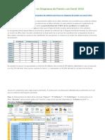 Cómo Hacer Un Diagrama de Pareto Con Excel 2010
