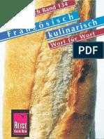 Französisch kulinarisch - Wort für Wort