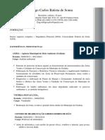Currículo Rodrigo Carlos