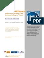 Berklee Drum Notation Finale