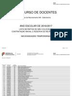 Não Colocação Lista Def NColoc CI 2016 GR 540