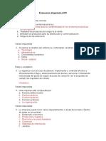 Evaluacion Diagnostica Dfi