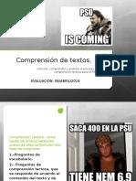 PSU Estructura