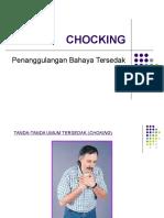 Chocking Penanggulangan Bahaya Tersedak