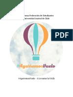 Programa #AgarremosVuelo - A Levantar La UACh