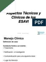 02 Aspectos Clinicos ESAVI