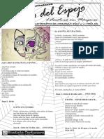 El Gato Del Espejo, Letras desde traslasierra. Revista Literaria Nª 4 (Otoño 2016)