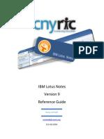 Lotus Notes Mail Client Handout v9