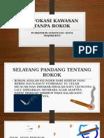 Advokasi Kawasan Tanpa Rokok