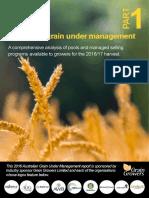 2016 Profarmer Australian Grain Under Management
