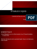 Iptables E Squid Aula 1