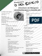 El Gato Del Espejo, Letras desde traslasierra. Revista Literaria Nª 6 (Primavera 2016)