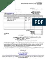 Cotizacion Venta Constr Maquinas y Manufacturas Rohe,c.a.feb.2013