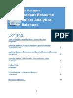 Lab Manager PRG Balance eBook