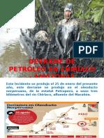 Derrame de Petroleo en Chiriaco