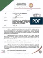 Regional Memorandum No. 191 s.2016
