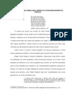 o Escritor Subalterno Hélio Serejo e a Paisagem Biográfica Crioula