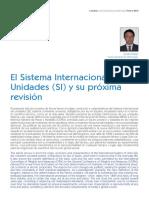 LECTURA 1el Sistema Internacional de Unidades y Su Proxima Revision LEIDO