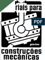 Materiais Para Construções Mecânicas (ProTec)