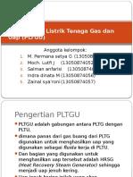 Pembangkit Listrik Tenaga Gas dan Uap (PLTGU.pptx