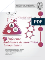 2do Informe geoquímica general UNI 16-I