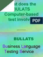 Bullats Introduction