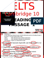 Cambridge 10 Reading 1