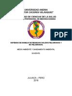 Sistemas de Residuos Solidos en La Region y Peru