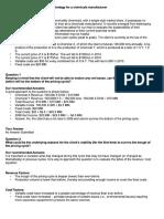 Strategy & Operations - Deloitt Case